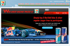 7-Eleven Singapore  Red Bull Lucky Draw