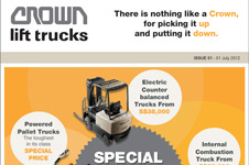 Crown Equipment  Email Marketing