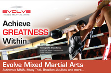 Evolve Mixed Martial Arts &#8211; Print Collateral