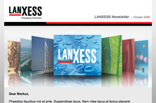 Lanxess &#8211; Email Marketing