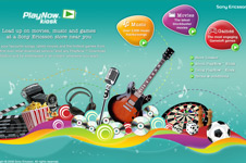 PlayNow Kiosk &#8211; Sony Ericsson