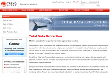 Trend Micro &#8211; Total Data Protection Microsite