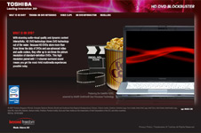Toshiba &#8211; HD DVD Microsite