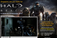 Xbox &#8211; Halo Reach Launch Campaign